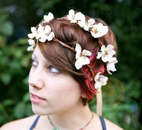 Headpiece Headpiece Roseburn Putih si gaun putih diy headpiece wreath