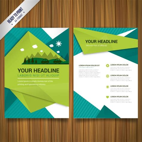 brochure templates eps free download 30 free brochure vector design templates designmaz