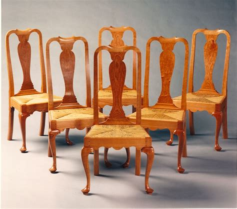 queen anne dining room furniture hand crafted queen anne dining room chairs by paula