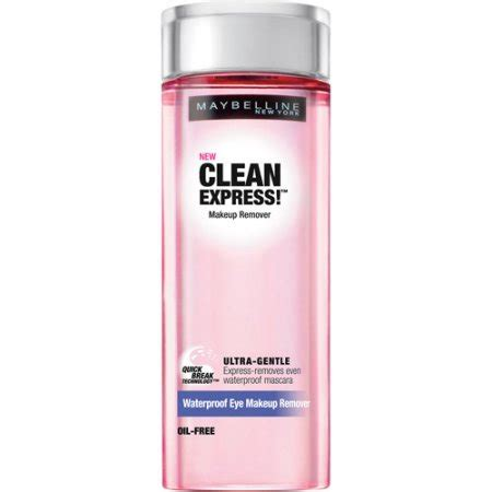 Maybelline Remover maybelline clean express waterproof eye makeup remover 4
