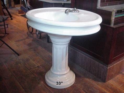 Pedestal Sink Plumbing by Oval Pedestal Sink Found Objects Of Industry