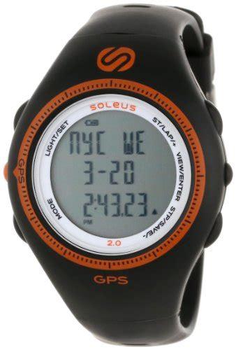 soleus s sg002030 black and orange gps soleus