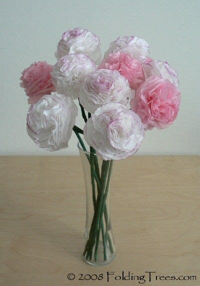 Tissue Paper Flower Craft Ideas - crafts for tissue paper flowers craft