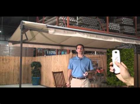 sunsetter oasis freestanding awning sunsetter oasis freestanding awning youtube