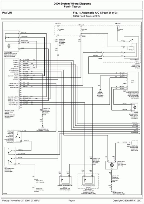 ford taurus radio wiring diagram 32 wiring diagram
