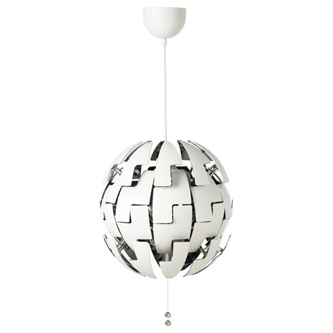 Hanging Light Fixtures Ikea Ikea Ps 2014 Pendant L White Silver Colour Ikea