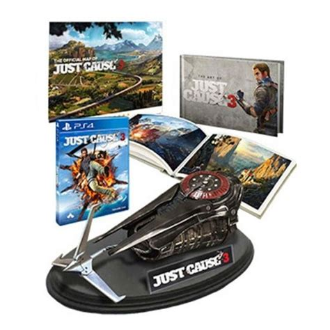 Ps4 Just Cause 3 Reg 3 just cause 3 collector s edition not include