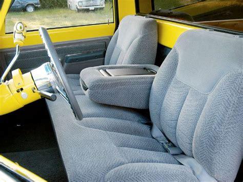 bench seats for chevy trucks custom 1972 chevrolet c10 feature truck sport truck