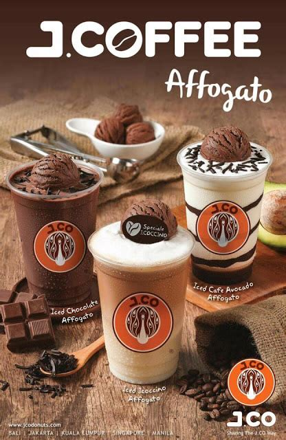 Daftar Coffee Toffee Makassar harga jcoffee affogato di j co coffee terbaru 2018 daftar