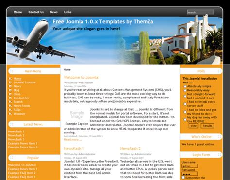 tour guide template travel guide