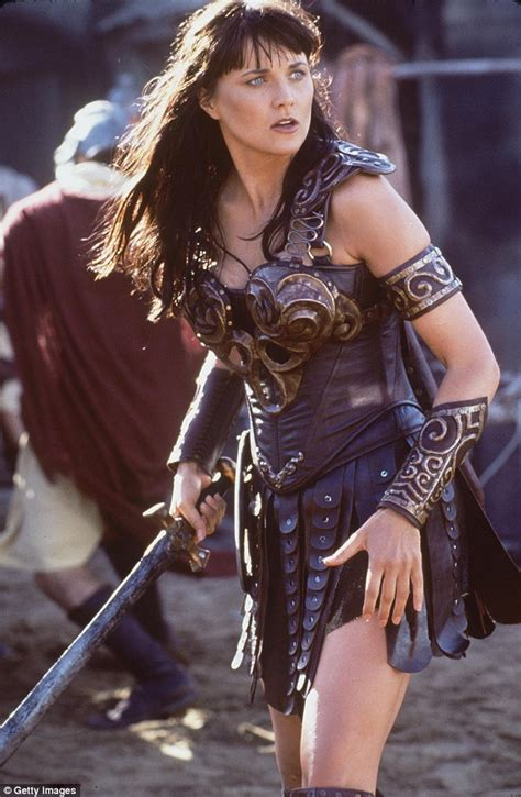 lucy lawless the office xena warrior princess stars lucy lawless and renee o