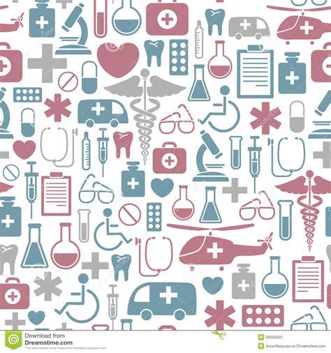 cute medical pattern medical pattern stock vector illustration of cross