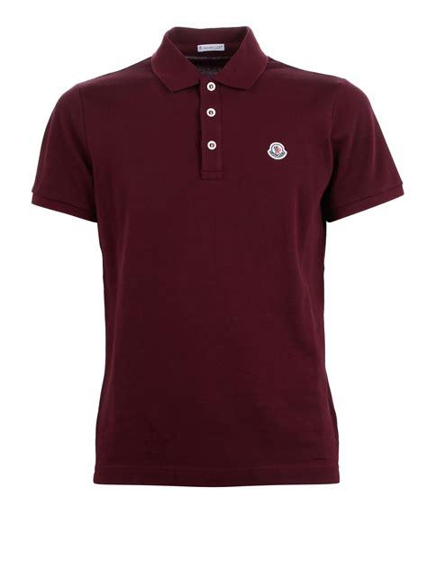 Polo Shirt Polos Original Cotton pique cotton polo shirt by moncler polo shirts ikrix