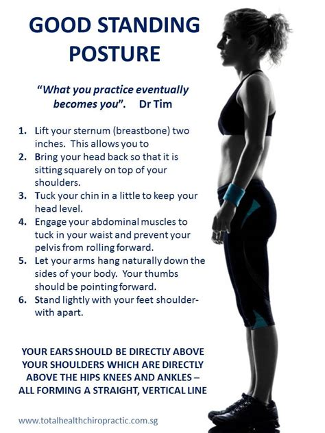 how to better posture posture just how important is it total health