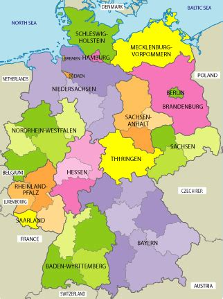 free map of germany germany map map pictures