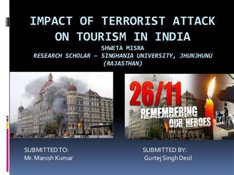 Impact Of Terrorist Attack On Tourism In India