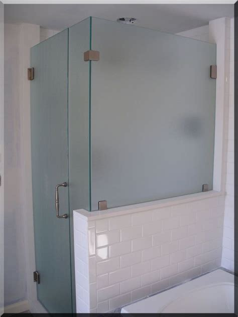Glass Shower Doors And Walls 1000 Ideas About Half Wall Shower On Half Walls Neo Angle Shower And Small