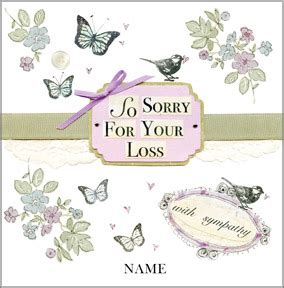 sorry for your loss card template sympathy cards funky pigeon