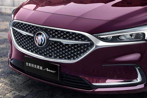 2020 Buick Lacrosse Refresh by 2020 Buick Lacrosse Avenir Refresh Revealed In China Gm