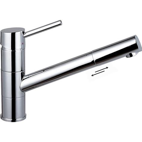 Pull Out Kitchen Sink Taps Single Lever Monobloc Pull Out Swivel Spout Kitchen Sink Mixer Taps 56055 Ebay