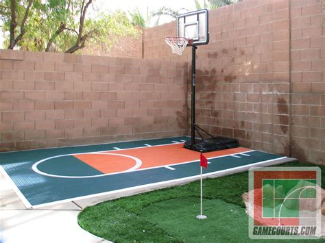 backyard basketball court flooring outdoor courts for sport backyard basketball court gym