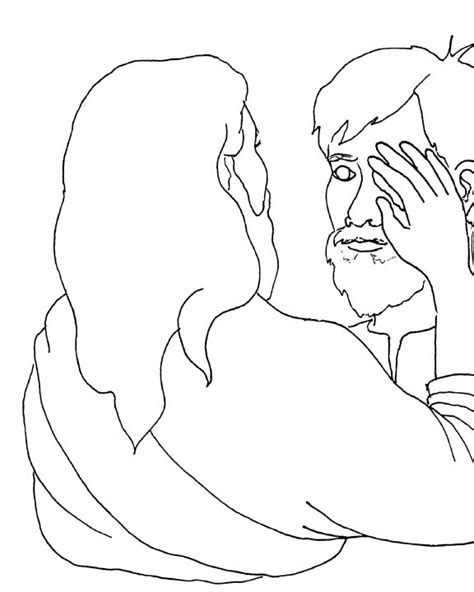 free blind bartimeus coloring pages