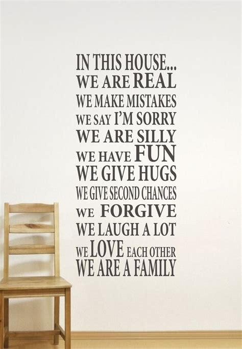 family friends home quote creative wall art sticker best 25 family wall ideas on pinterest family wall