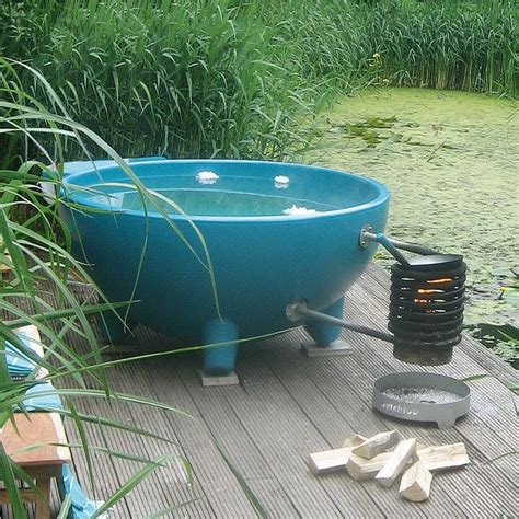wood heated bathtub wood heated hot tub designs pictures to pin on pinterest