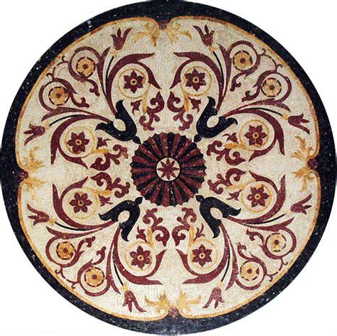 medallion mosaic pattern tile stone art floor tabletop ebay for uli pinterest tabletop