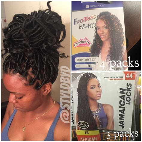 how many packs of hair for goddess braids goddess locs protective styles pinterest goddess