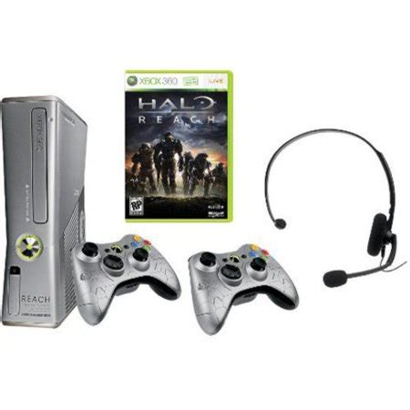 halo reach xbox 360 console xbox 360 limited edition halo reach console bundle