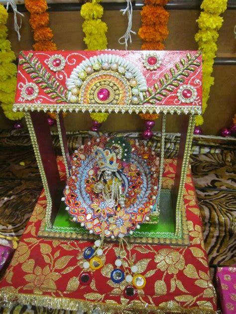 how to decorate janmashtami at home 36 best krishna s janmastami images on pinterest