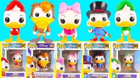 Funko Pop Disney Ducktales Huey Duck new duck tales funko pop unboxing with donald duck and