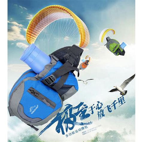 Tas Pinggang Vape Blue tas pinggang waterproof blue jakartanotebook