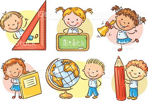 imagenes infantiles escuela conjunto de escuela para ni 241 os de dibujos animados