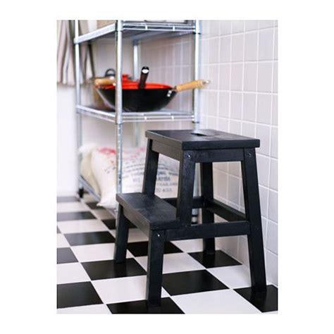 Sgabello Scaletta Ikea by Bekv 196 M Scaletta Sgabello Nero Ikea Ikea Solid Wood