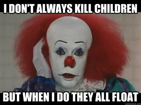 Funny Clown Meme - pennywise memes image memes at relatably com