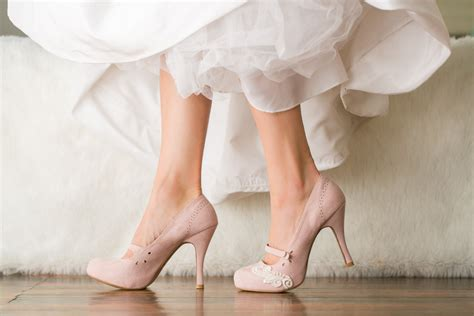 Blush Wedges Wedding by 7 Gorgeous Wedding Shoes For Bridesmaids