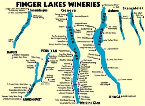 map of the finger lakes 4 stop the car wineries along keuka lake capturing