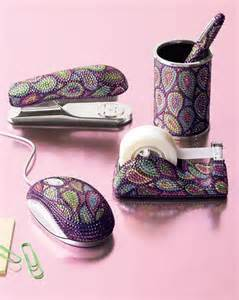 Womens Desk Accessories Desk Accessories With Swarovski Crystals News From Gadgets World