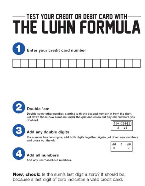 Luhn Formula Credit Card Ashoka Chakra The Credit Card Da Vinci Code