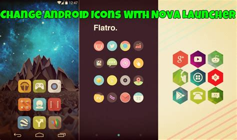 change icon android how to change the android default icons with launcher