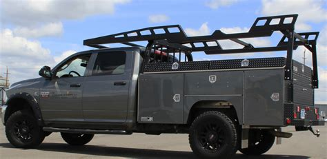 utility truck bed truck accessory aluminum service bodies from highway