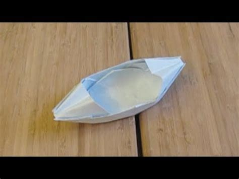 Origami Paper Weight - my paper boat that floats on water origami