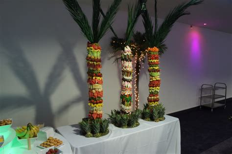 pineapple fruit tree stand fruit and palm tree hire chocolate hire