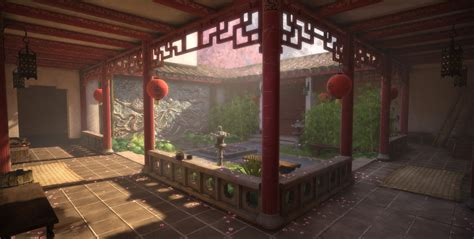 large home interiors fine art picture doves courtyard chinese courtyard related keywords chinese courtyard
