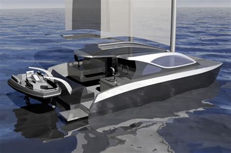 catamaran electric motor motor sailing catamarans