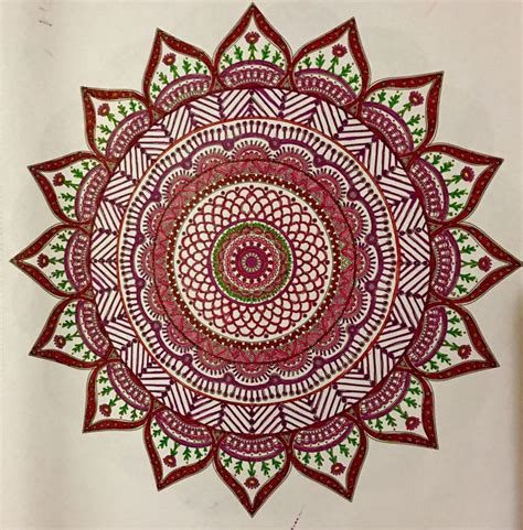 372 Best Images About My Coloring Pages Mandalas Colored