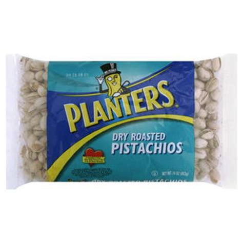 Planters Pistachios planters pistachios roasted 16 oz 1 lb 453 g food grocery snacks nuts seeds