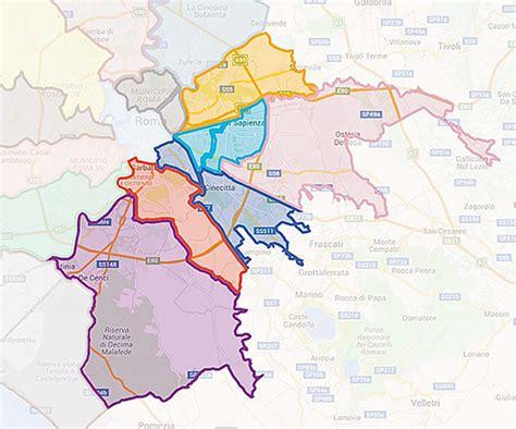 uffici asl roma asl roma 2 distretti